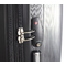 Suitcase with double zipper TSA lock