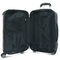 Suitcase interior pockets and securing straps