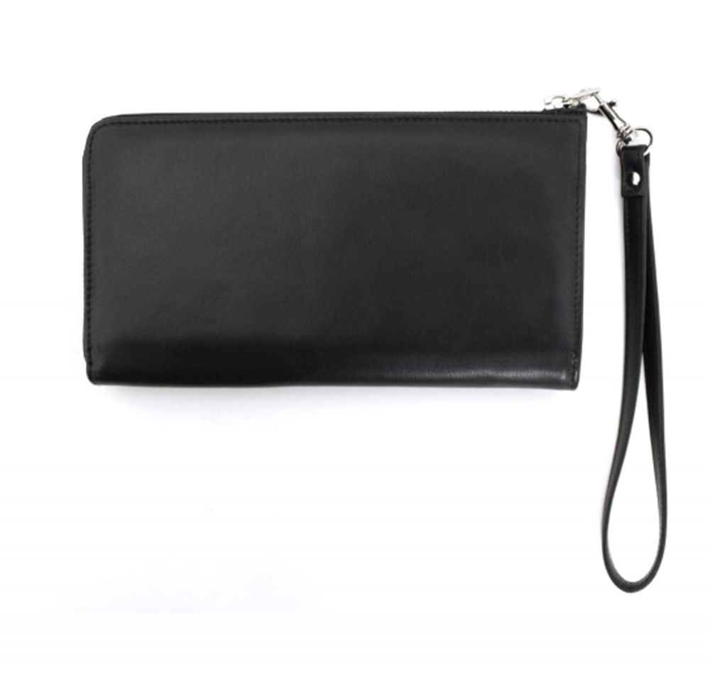 Genuine Leather Smartphone Wrist Wallets - Back View