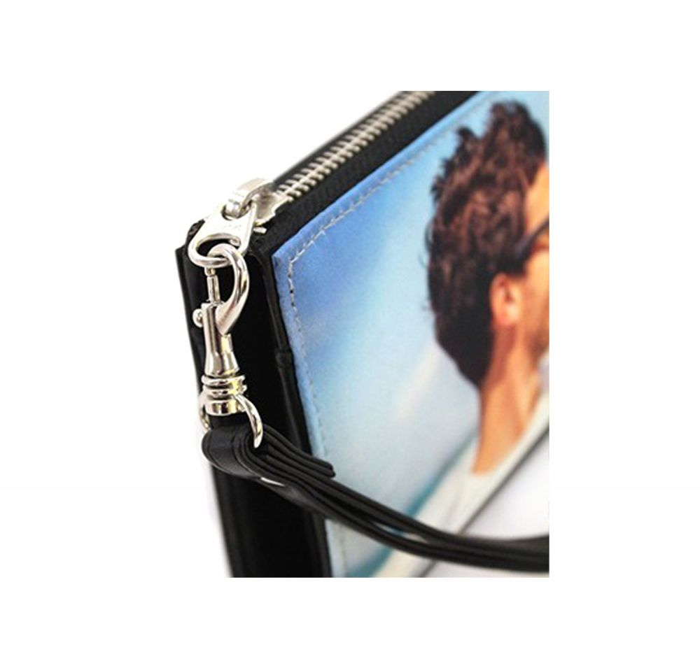 Genuine Leather Smartphone Wrist Wallets - Hardware Details