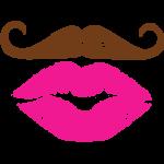 Mustache & Lips