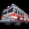 Firetrucks Templates for Makeup / Cosmetic Bags