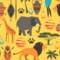 Safari Templates for Bath Towels