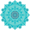 Mandalas Templates for Runner Rugs - 3.66'x8'