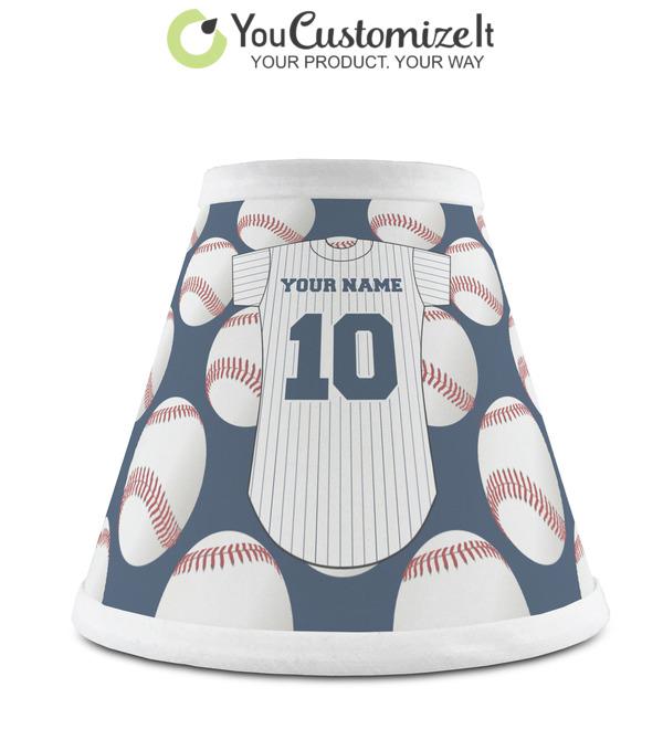 Personalized RNK Shops Baseball Jersey Empire Lamp Shade