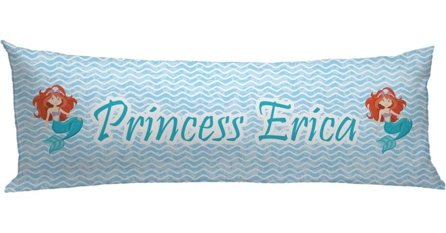 Mermaids Body Pillow Case Personalized Youcustomizeit